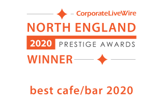 North England Prestige Awards - Winner of Best Cafe/Bar 2020